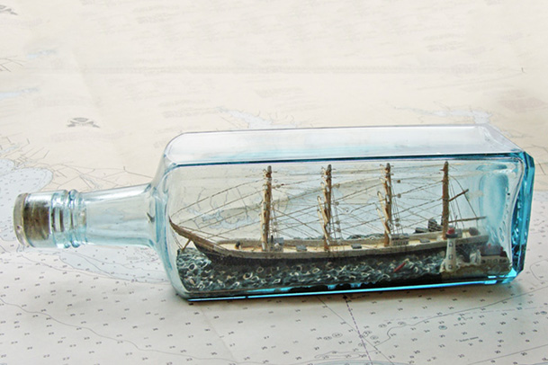 Ship in as Bottle