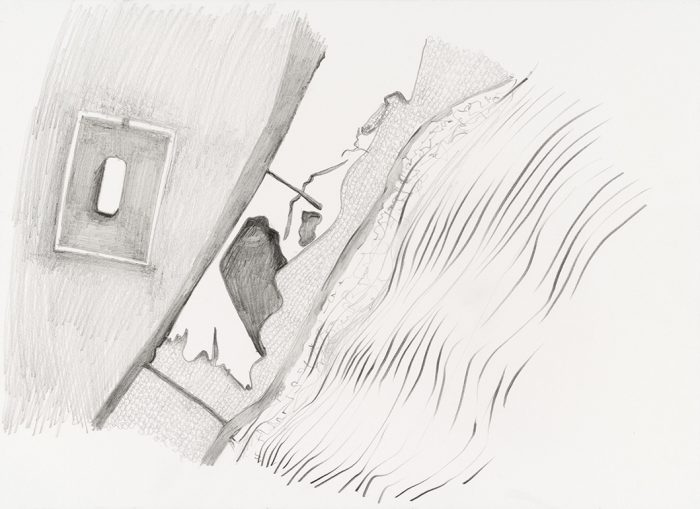 Atemporal VII,  pencil on paper, 2017