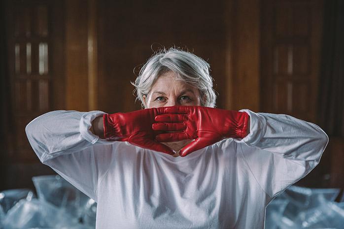 Breath Control: Osmosis, performance, 2018. Photo Rosie Powell