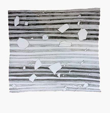 Atemporal I, pencil on paper, 10 x 11.5 cm, 2017